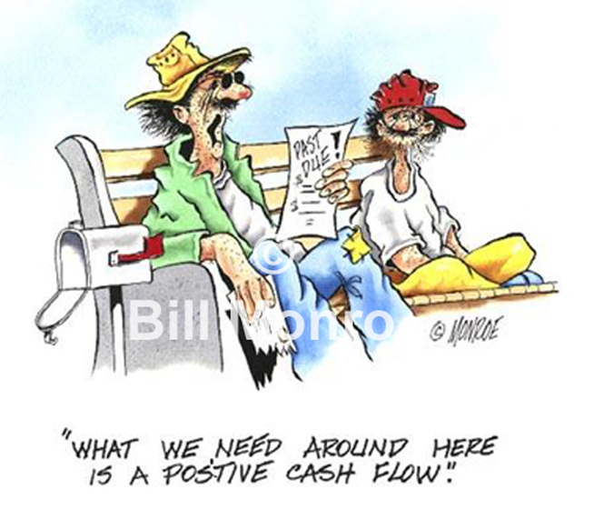 Funny Cfo Cartoon Art Monroe Cartoonist
