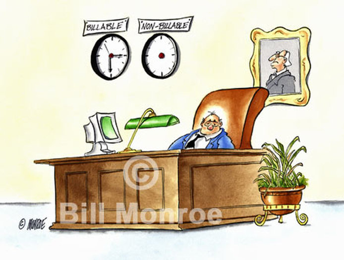 Accountant Billable Hours Cartoon Art Monroe Cartoonist