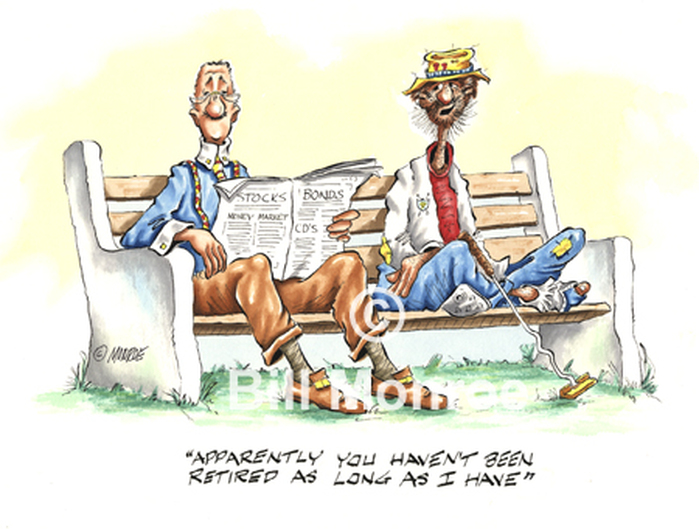 Retirement cartoon, Stocks, Money Manager, Investing Retirement Gift Funny